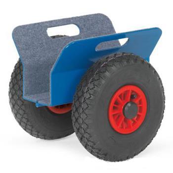 Samosvorný transportný vozík na sklo